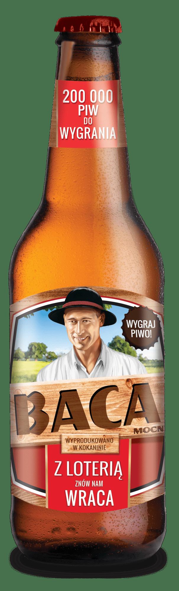 Piwo Baca Mocny - baca promo2021 wiz