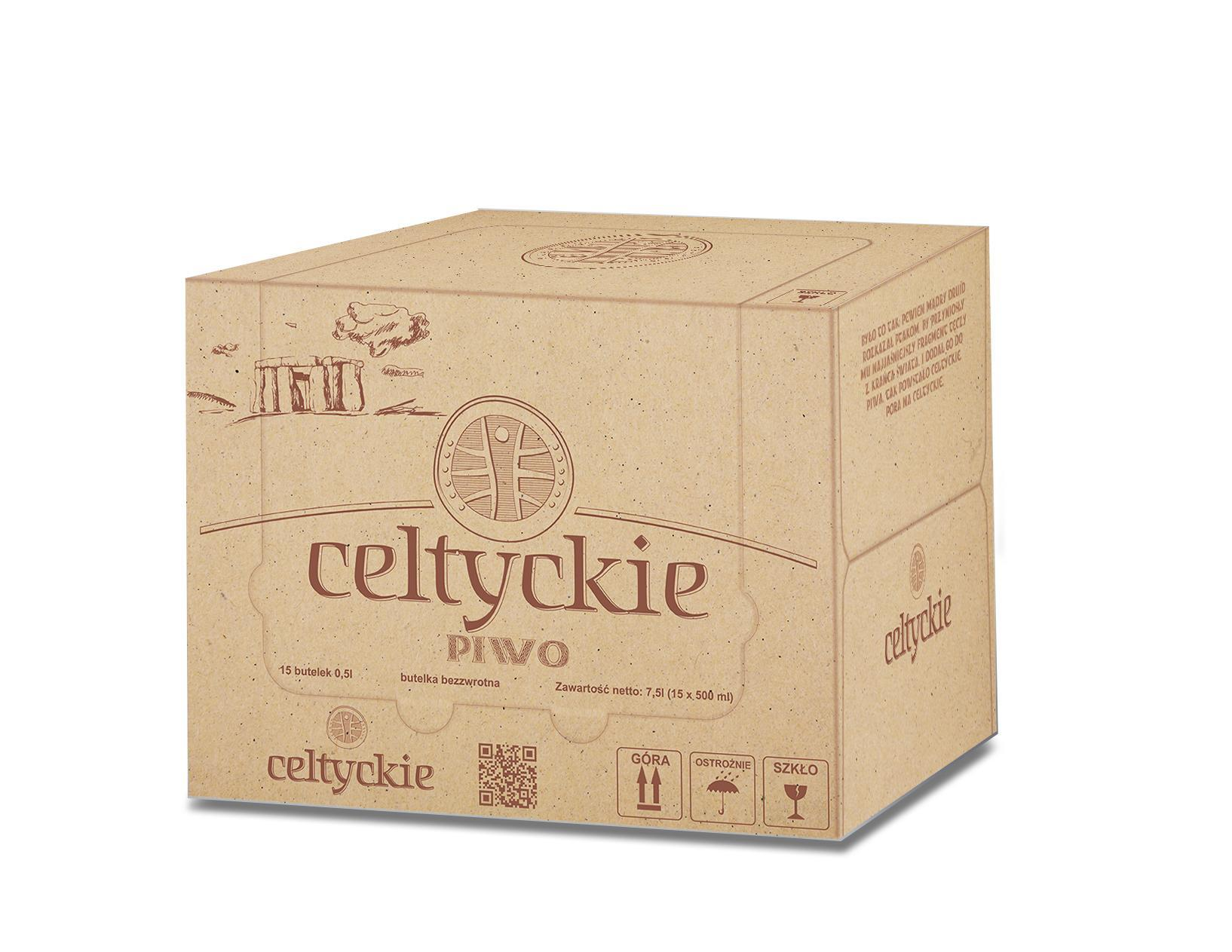 Piwo Celtyckie - jako karton celtyckie wiz