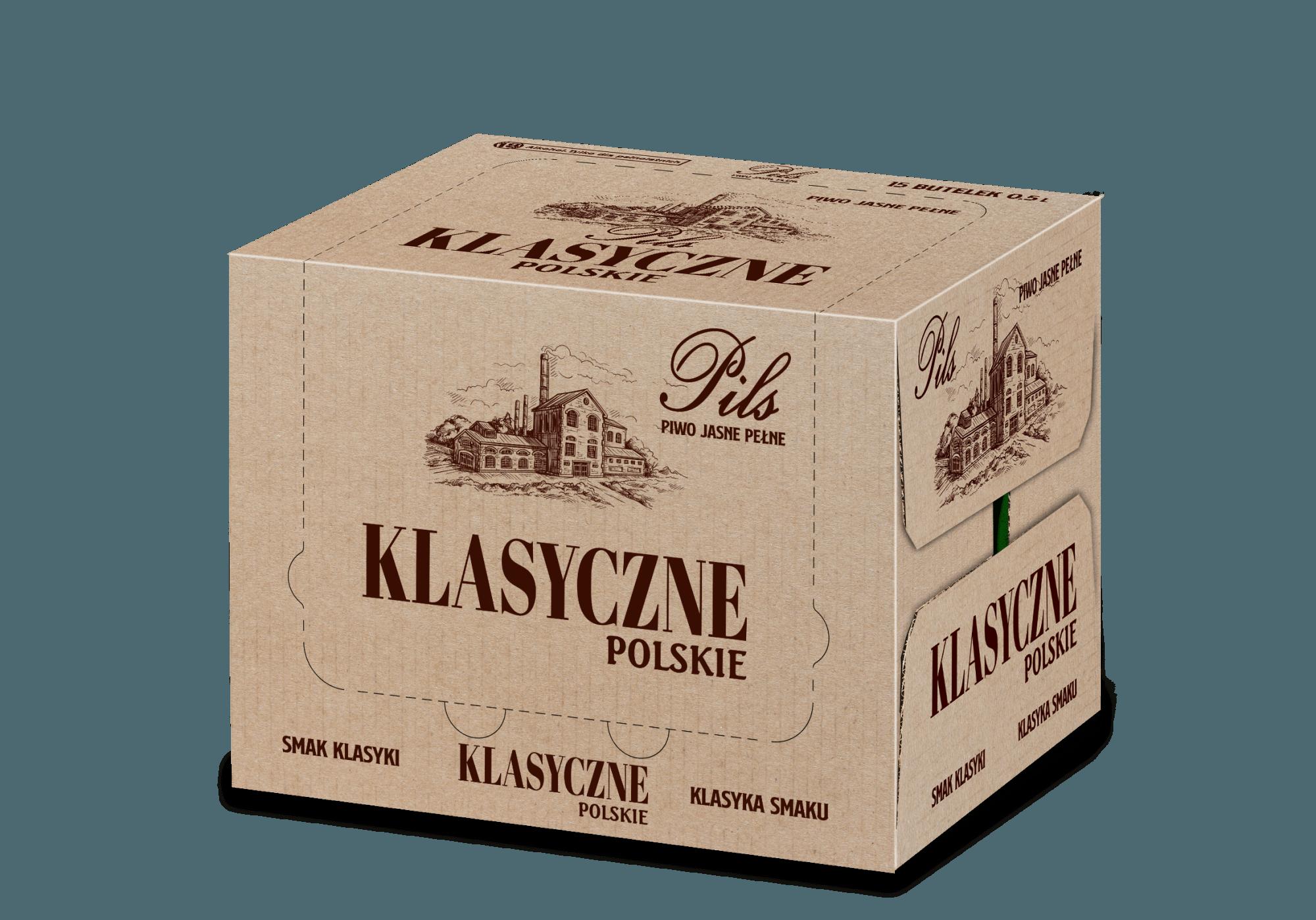 Piwo Klasyczne Polskie - klasyczne karton wiz