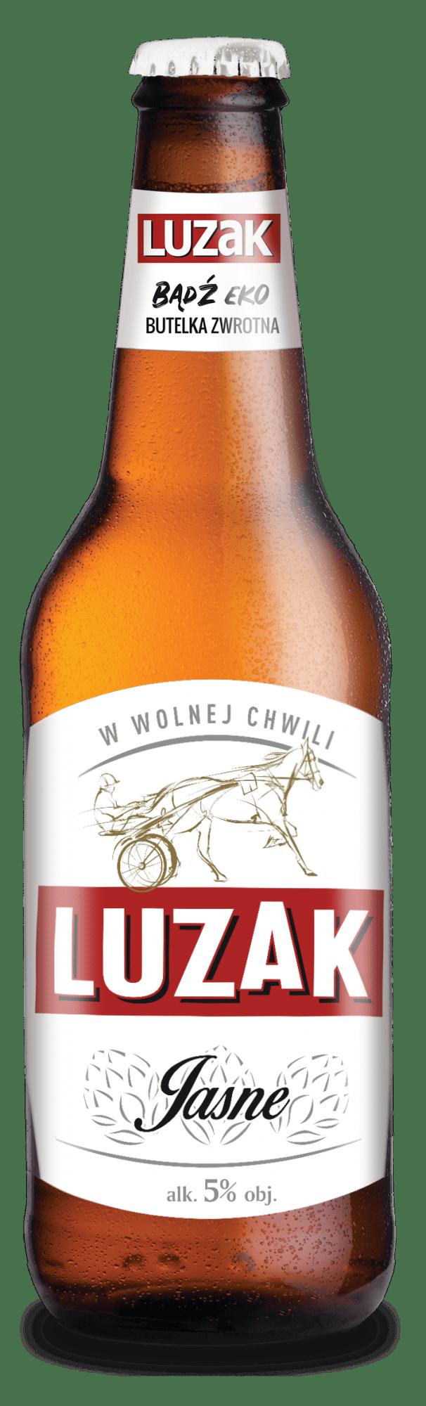 Piwo Luzak - luzak lager wiualizacja