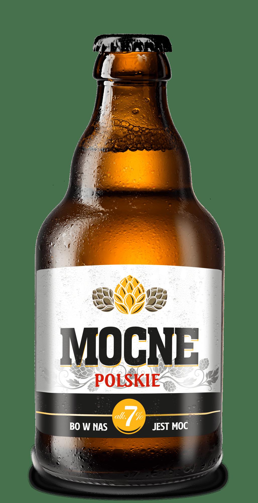 Piwo Mocne Polskie - mocne polskie butelka
