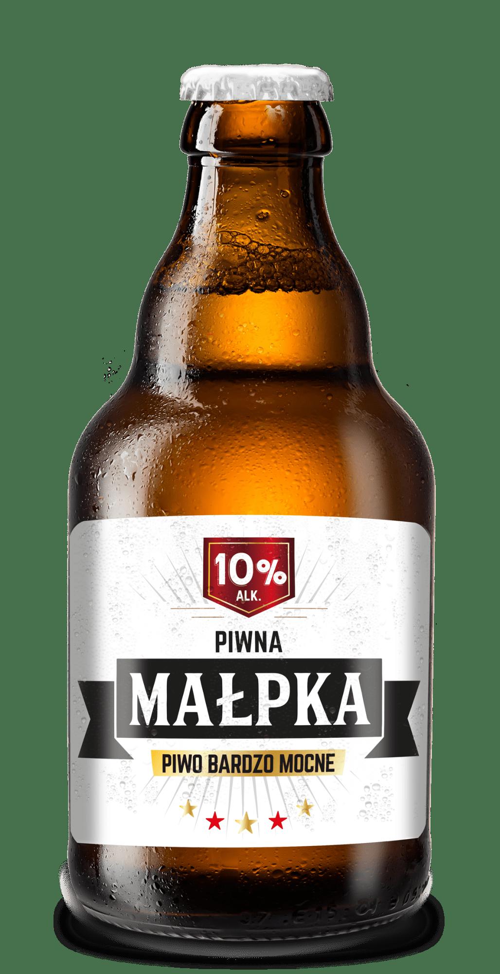 Piwna Małpka - piwna malpka butelka wiz