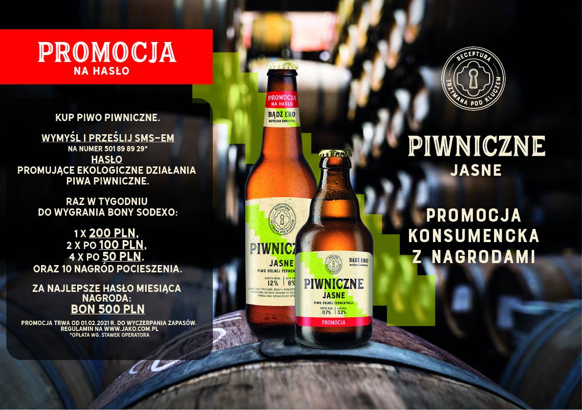 Od 01.02.2021 r. rusza nowa promocja piwa Piwniczne. - piwniczne na strone