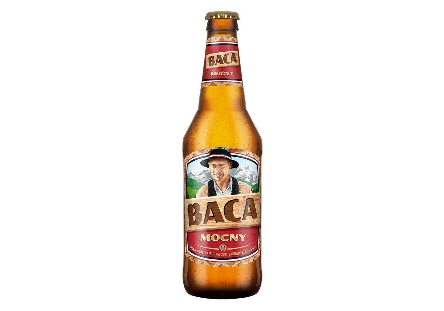 Piwo Baca Mocny - piwo baca