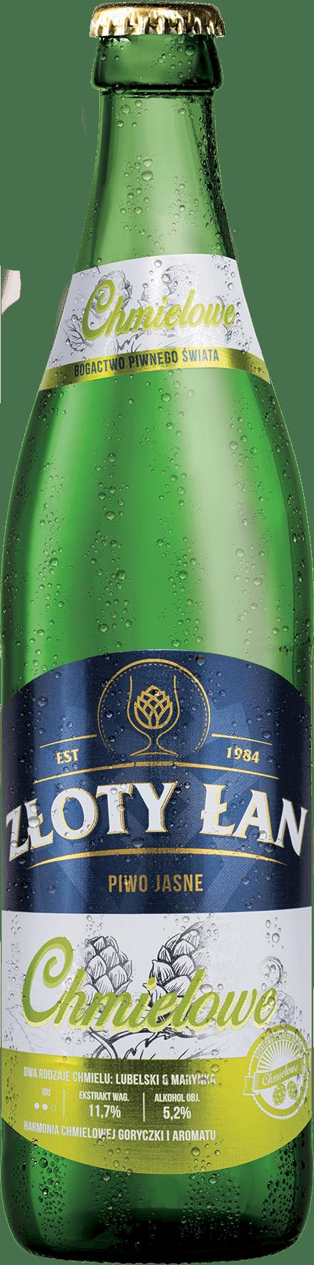 Piwo Złoty Łan - zloty lan chmielowe metal