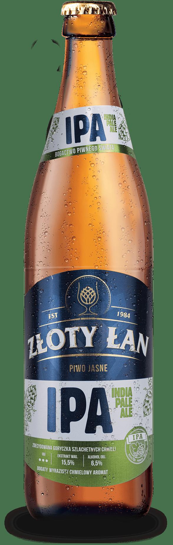 Piwo Złoty Łan - zloty lan ipa metal